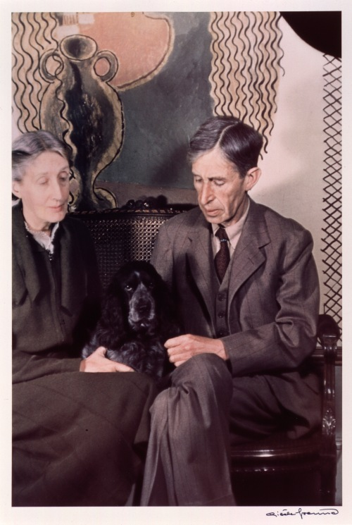 002 Leonard and Virginia Woolf P439 Freund