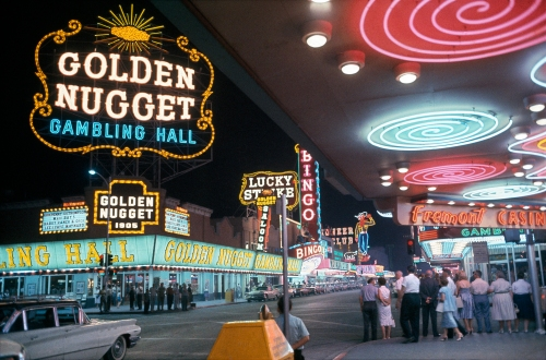 Golden Nugget, Las Vegas, Nevada, 1960