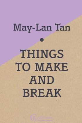 Things To Make Or Break. Book