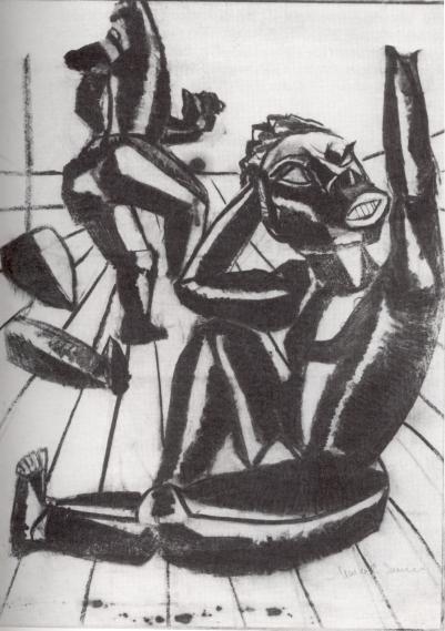 dada-afrika_p063-marcel-janco-entwurf-plakat_1916