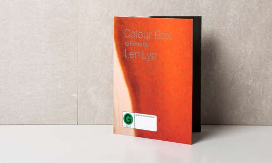 Colour Box 19 Films by Len Lye cover