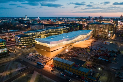 City of Helsinki 20181203 Helsinki Central Library Oodi